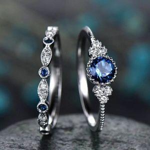 Sapphire Ring Set